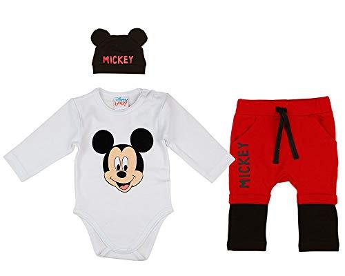 Disney Baby Mickey Mouse Jungen 3teiler Set mit...