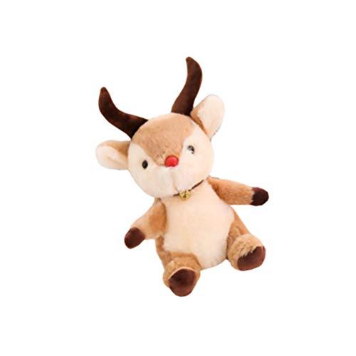 NUOBESTY Weihnachten Stofftiere Gazelle Stofftier...