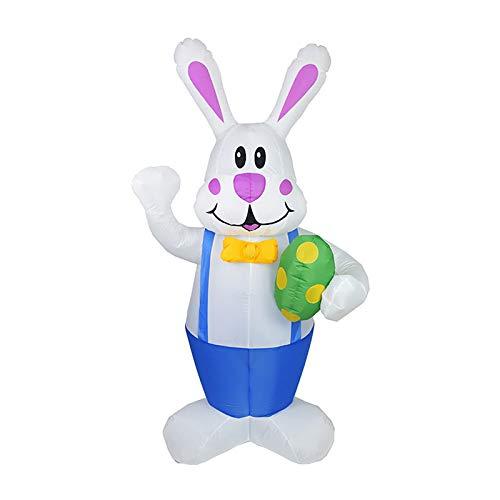 Babody Aufblasbarer Hase für Ostern,...