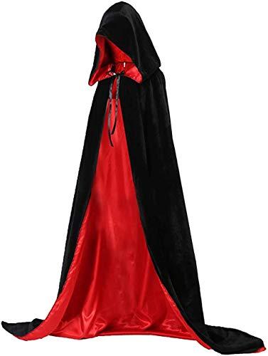 Vampir Umhang, Halloween Kostüme Kapuze...
