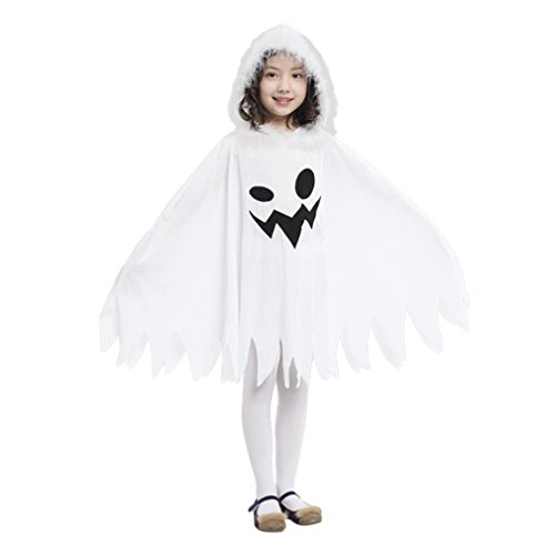 Gift Tower Halloween Kostüm Weiß Ghost Umhang...