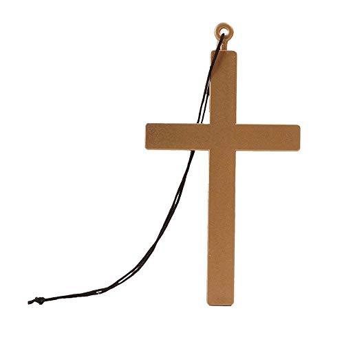Boland 00535 - Halskette Kreuz, Größe 45 cm,...