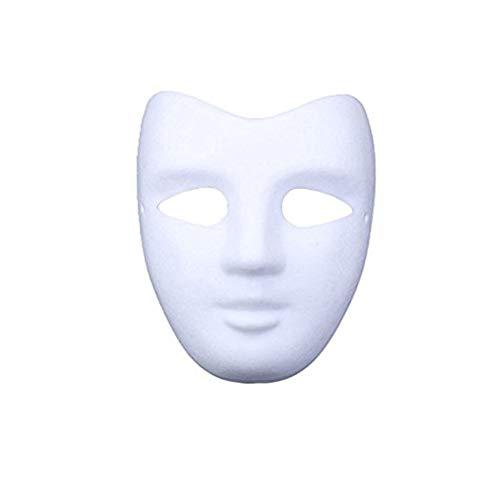 Meimask DIY 5 stücke Weißes Papier Maske...