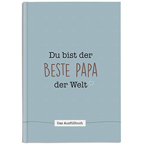 CUPCAKES & KISSES® Papa Buch zum Ausfüllen I...