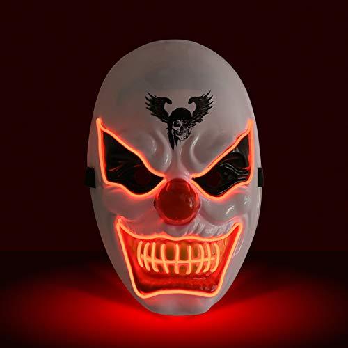 KATELUO Purge Maske,led Maske,Halloween...