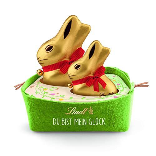 Lindt Goldhasen Groß & Klein im Nest und...