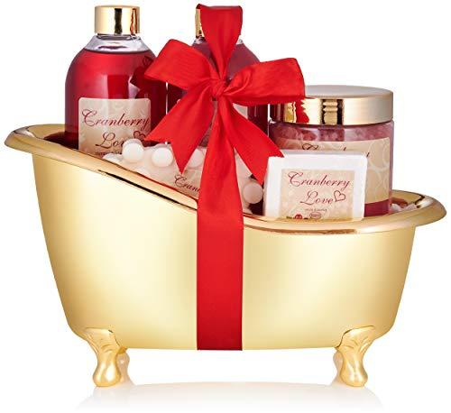 BRUBAKER Cosmetics Bade- und Dusch Set Cranberry...