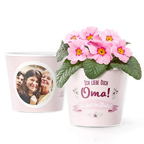 Facepot Geschenkideen für Oma - Blumentopf...