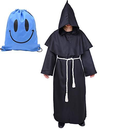 Mönch Robe Kostüm Mönch Priester Gewand Kostüm...