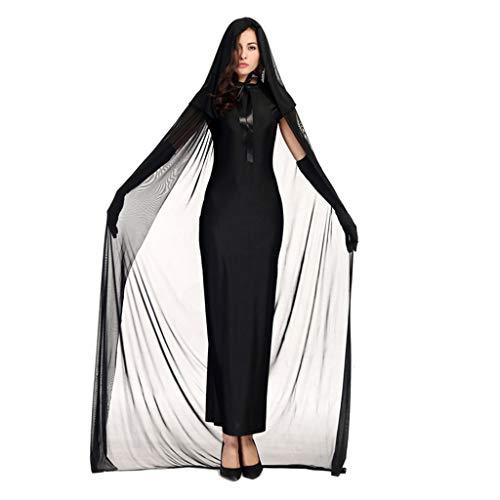 PROTAURI Damen Hexen Halloween Kostüm - Frauen...