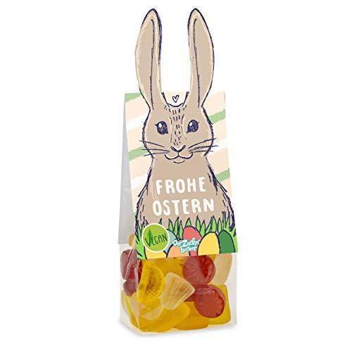 Frohe Ostern Naschbeutel vegan, ein exotischer...