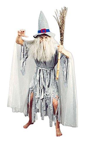 Hexenmeister Catweazle Crazy Ghost Kostüm für...
