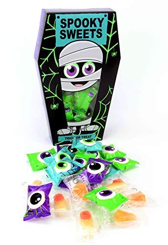 Becky´s Halloween Sarg mit Süßigkeiten -...