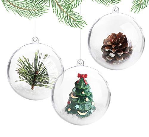 ilauke 20 Stück Christbaumkugeln Weihnachtskugeln...