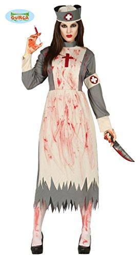 Guirca Horror-Krankenschwester Halloween-Kostüm...
