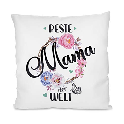 Kissen mit Motiv Modell: Beste Mama der Welt