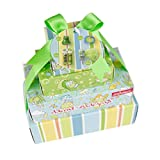 Accentra Geschenkset Advent for Kids, 4 Geschenk-Boxen für 4 Advents-Sonntage mit Bade-Überraschungen