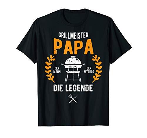 Herren Grillmeister Papa | Grillen Grillfan BBQ...
