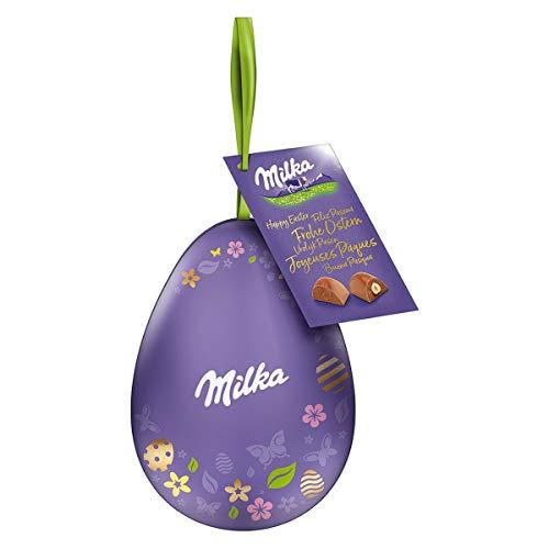 Milka Pralinen Alpenmilch Nuss dekoratives Metall...