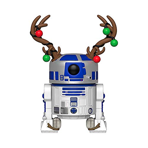Funko 33891 POP Bobble: Star Wars: Holiday R2-D2...