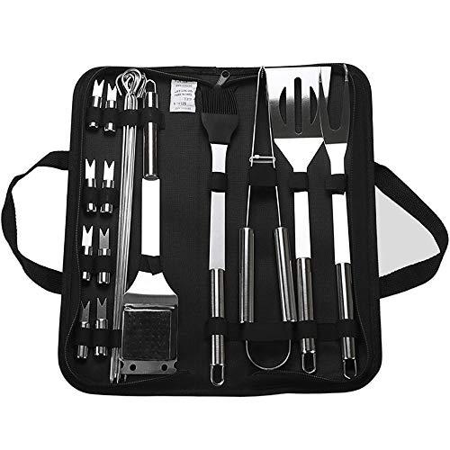 Grill-Werkzeug-Set, 20-teilig,...
