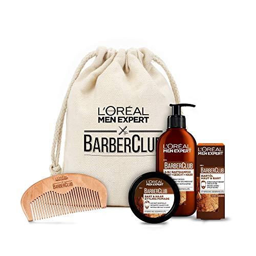 L'Oréal Men Expert Bartpflege Set mit Bartöl,...