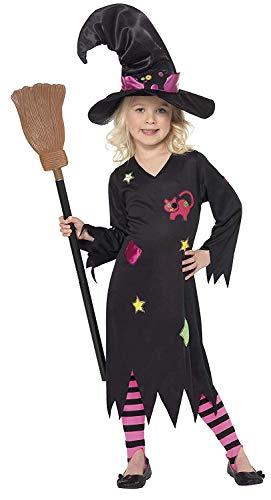 Halloween! Smiffys Kostüm Holzhexe, Schwarz, mit...