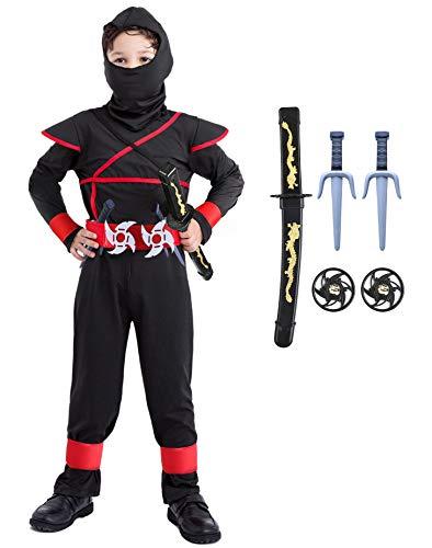 Seawhisper Halloween Kostüm Kinder Junge Ninja...