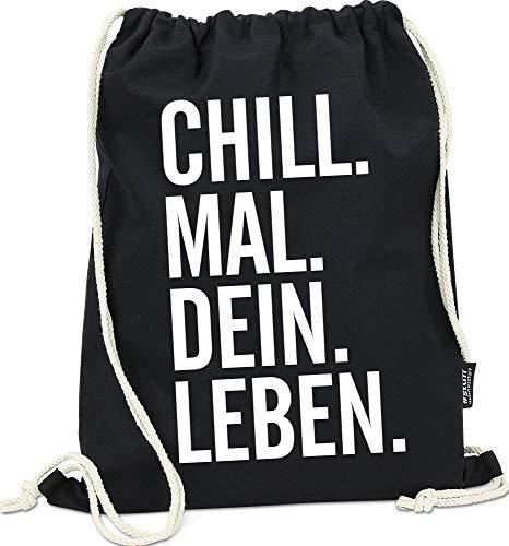 Hashtagstuff® Turnbeutel mit Sprüchen Designs...