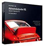 FRANZIS Porsche Carrera RS Adventskalender | in 24 Schritten zum Porsche RS unterm Weihnachtsbaum | Ab 14 Jahren