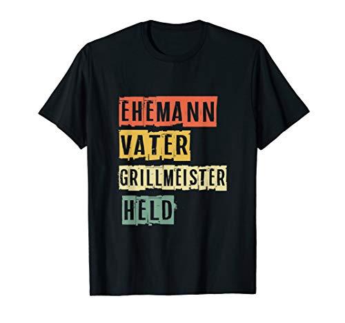 Ehemann Vater Grillmeister Held Vatertag Geschenk...