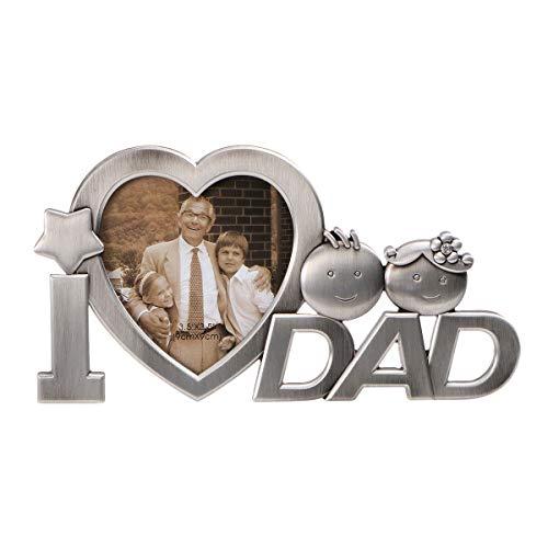 OULII Ich liebe Papa Foto Bilderrahmen Vatertag...
