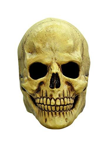 Totenkopf Maske des Grauens aus Latex -...