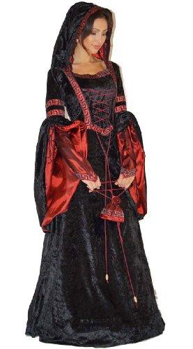 MAYLYNN Vampir Kostüm Gothic Hexe Mittelalter...