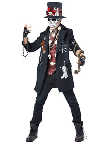 California Costumes Herren Voodoo Dude - - Large