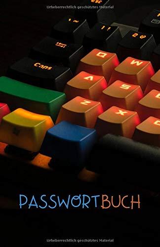 Passwortbuch: Passwort Notizbuch mit Register zum...