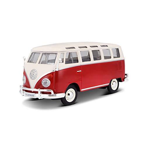 Maisto 531956 VW Bus Samba Modellauto im Maßstab...