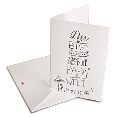 Vatertagskarte - Glückwunschkarte für den besten...