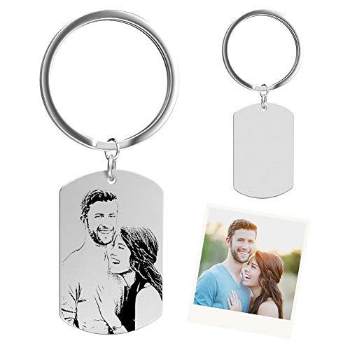 SOUFEEL Personalisierte Schlüsselanhänger mit...