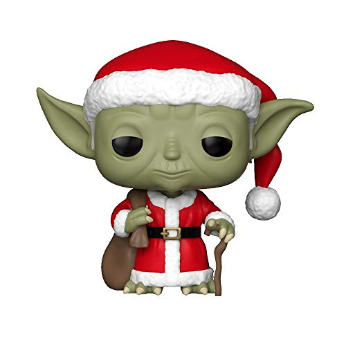 Funko 33885 POP Bobble: Star Wars: Holiday Santa...
