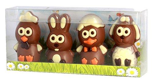Schokoladen Osterfiguren 4er Set 120g