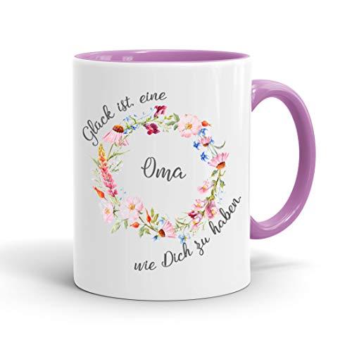 True Statements Oma Tasse Glück ist eine Oma wie...