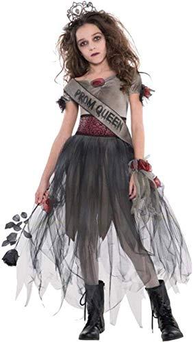 Amscan 996997 Kinderkostüm Prombie Queen, Grau,...