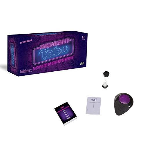 Hasbro Gaming C0418100 - Tabu Midnight Partyspiel