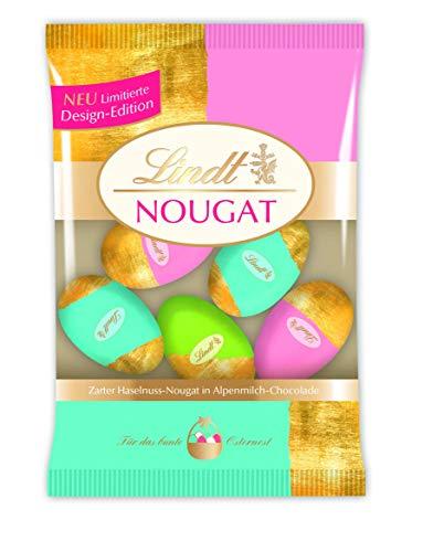 Lindt Deko Edition Nougat-Eier, Gold, Zarter...