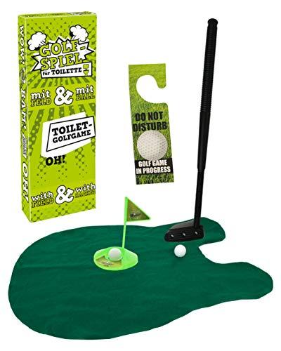 MIJOMA Toiletten-Golf Set, 6-teilig,...