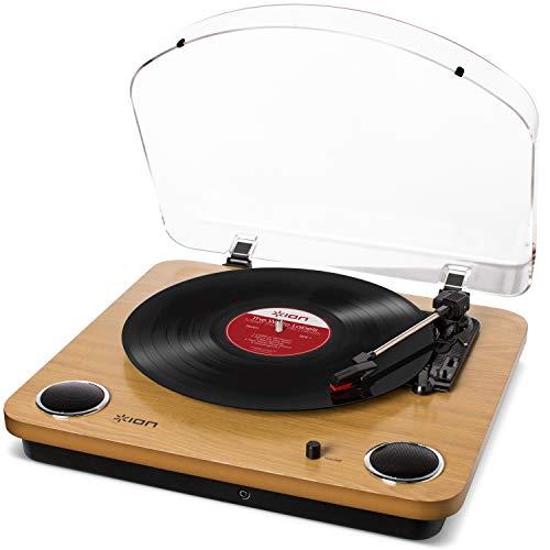 ION Audio Max LP - USB Plattenspieler Retro mit...
