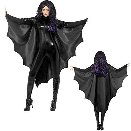 Halloween! Smiffys Fledermausflugel Vampir,...
