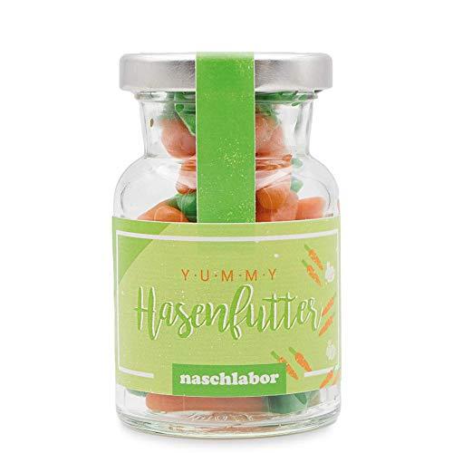 naschlabor | Hasenfutter Fruchtgummis im Rundglas...