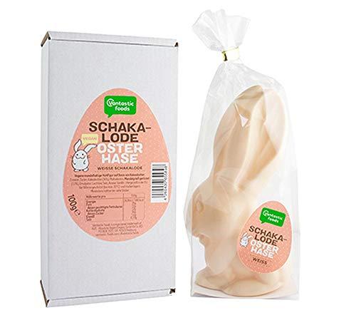 Vantastic Foods weiße Schakalode Osterhase...